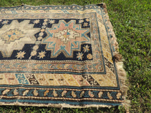 Antique Worn Caucasian Area rug - bosphorusrugs  - 6