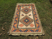 Wool Geometric Rug On Sale - bosphorusrugs  - 2