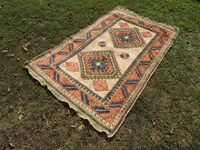 Wool Geometric Rug On Sale - bosphorusrugs  - 3