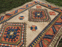 Wool Geometric Rug On Sale - bosphorusrugs  - 5