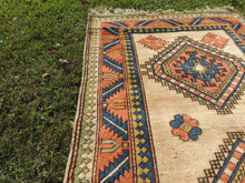 Wool Geometric Rug On Sale - bosphorusrugs  - 6