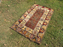 Circa 1980's Brown area rug - bosphorusrugs  - 3