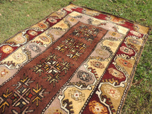 Circa 1980's Brown area rug - bosphorusrugs  - 4