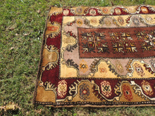 Circa 1980's Brown area rug - bosphorusrugs  - 5