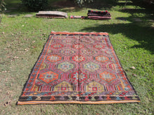 Colorful Embroideried jijim Kilim Sele ndi - bosphorusrugs  - 3