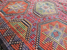 Colorful Embroideried jijim Kilim Sele ndi - bosphorusrugs  - 7