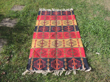 Colorful Bohemian Turkish Kilim Rug - bosphorusrugs  - 2