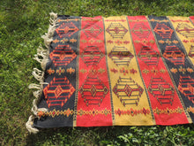 Colorful Bohemian Turkish Kilim Rug - bosphorusrugs  - 4