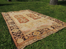 "Brown Turkish Carpet ""Maden"" - bosphorusrugs  - 4"