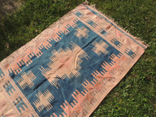 Turkish Tribal Kilim Rug Home Decor - bosphorusrugs  - 4