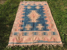 Turkish Tribal Kilim Rug Home Decor - bosphorusrugs  - 5