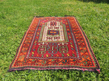 Signed Turkish prayer rug - bosphorusrugs  - 3