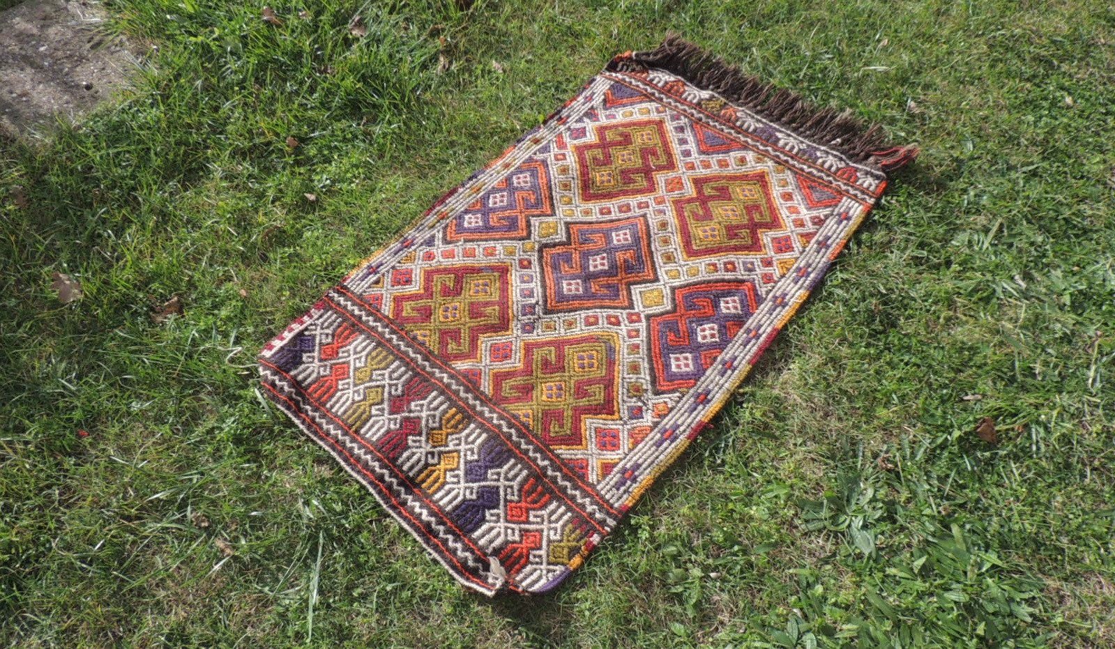 Tribal Nomad Turkish Kilim - bosphorusrugs  - 1