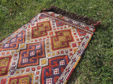 Tribal Nomad Turkish Kilim - bosphorusrugs  - 4
