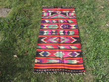Colorful Turkish Kilim - bosphorusrugs  - 2