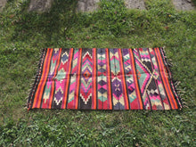 Colorful Turkish Kilim - bosphorusrugs  - 3