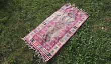 "Boho Turkish Kilim ""Lavender"" - bosphorusrugs  - 1"