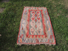 Bohemian Kilim Rug from Turkey - bosphorusrugs  - 2