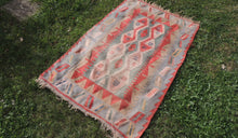 Bohemian Kilim Rug from Turkey - bosphorusrugs  - 1