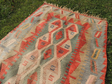 Bohemian Kilim Rug from Turkey - bosphorusrugs  - 4