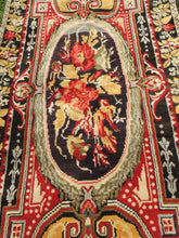"Black ""Ghiordes"" rug - bosphorusrugs  - 7"
