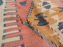 """Aegean"" Turkish kilim rug 5x7 - bosphorusrugs  - 7"