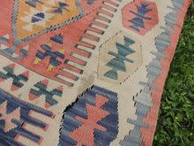 """Aegean"" Turkish kilim rug 5x7 - bosphorusrugs  - 8"