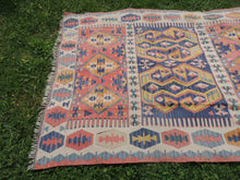 """Aegean"" Turkish kilim rug 5x7 - bosphorusrugs  - 5"