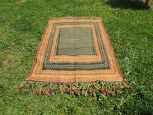 Green tribal kilim from Central Anatolia - bosphorusrugs  - 3
