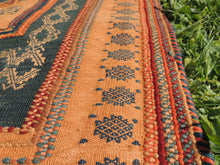 Green tribal kilim from Central Anatolia - bosphorusrugs  - 10