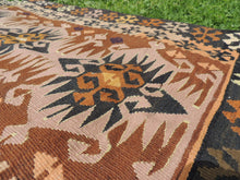 "Tribal Turkish ""Sivas"" kilim rug - bosphorusrugs  - 7"
