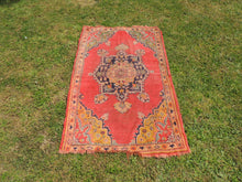 Semi Antique Worn Turkish Area rug - bosphorusrugs  - 2