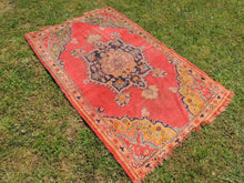 Semi Antique Worn Turkish Area rug - bosphorusrugs  - 3