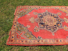 Semi Antique Worn Turkish Area rug - bosphorusrugs  - 4