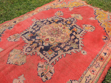 Semi Antique Worn Turkish Area rug - bosphorusrugs  - 5