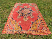 Semi Antique Worn Turkish Area rug - bosphorusrugs  - 6