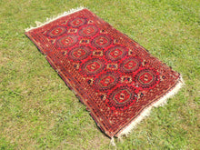 Antique Red Turkoman Area Rug - bosphorusrugs  - 2