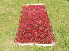 Antique Red Turkoman Area Rug - bosphorusrugs  - 3