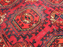 Antique Red Turkoman Area Rug - bosphorusrugs  - 7