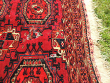 Antique Red Turkoman Area Rug - bosphorusrugs  - 8