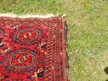 Antique Red Turkoman Area Rug - bosphorusrugs  - 4