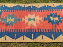 70's Tribal Geometric Turkish Kilim Rug - bosphorusrugs  - 6
