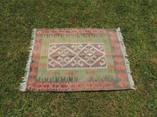 Decorative Tribal Turkish kilim rug ONLY $99