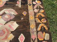 7x17 feet Antique Karabagh kilim rug - bosphorusrugs  - 11