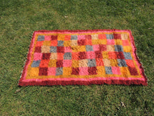 "Pink Turkish kilim rug ""Tulu"" 3x6 ft. - bosphorusrugs  - 4"