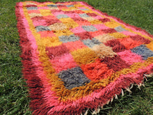 "Pink Turkish kilim rug ""Tulu"" 3x6 ft. - bosphorusrugs  - 6"