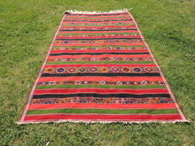 "Large Turkish kilim rug ""Sivas"" 7x12 - bosphorusrugs  - 2"