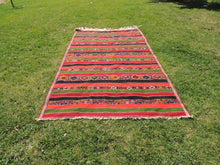 "Large Turkish kilim rug ""Sivas"" 7x12 - bosphorusrugs  - 3"