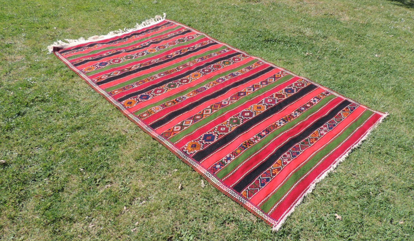 Large Turkish kilim rug