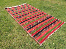"Large Turkish kilim rug ""Sivas"" 7x12 - bosphorusrugs  - 4"